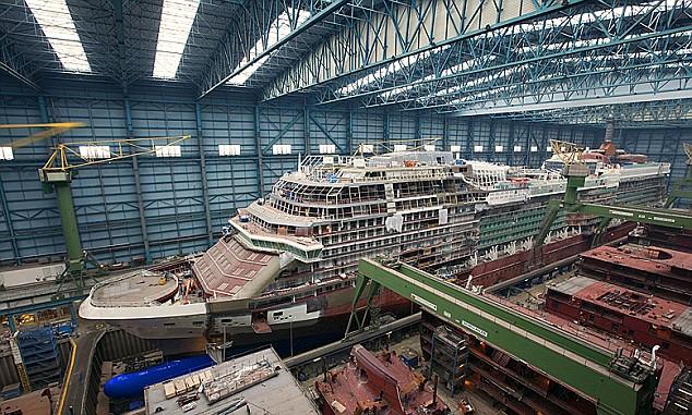 Cruiseship Odyssey Since December 1st 2003