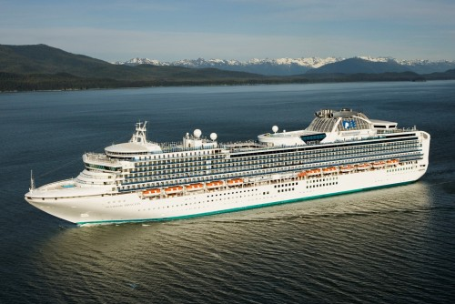 Diamond Princess in Alaska